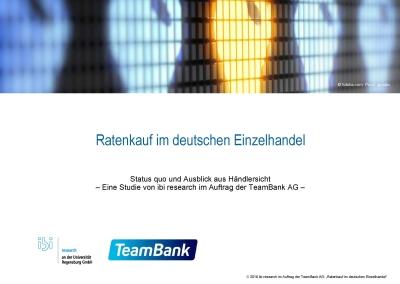 203078d1f301ab Studie: Ratenkauf im deutschen Einzelhandel