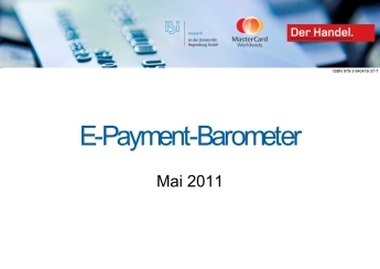 Studie:  E-Payment-Barometer - Mai 2011